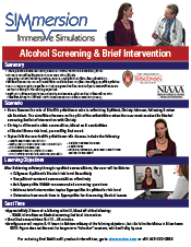 Alcohol Screening & Brief Intervention Marketing Sheet